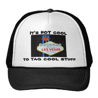 Be Cool- protest graffiti on Las Vegas sign Trucker Hat