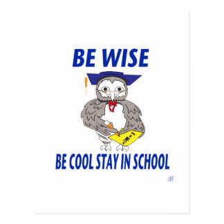 BE-COOL STAY-IN-SCHOOL POST CARDS