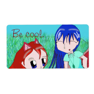 Be cool! Stickers