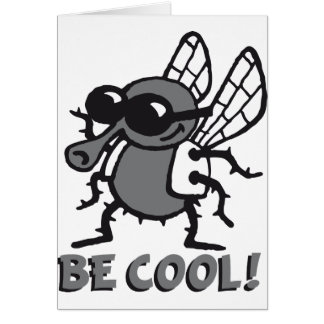 BE coolly fly 3c Cards