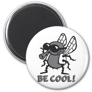 BE coolly fly 3c Magnet