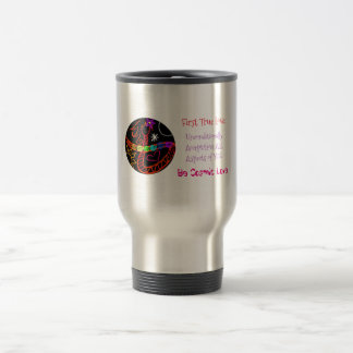 Be Cosmic Love Travel Mug