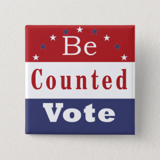 Be Counted Vote Button