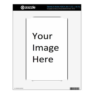 Be creative create your own gift design NOOK skin
