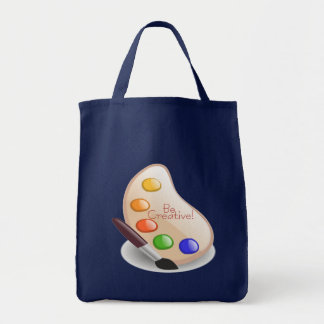 Be Creative Grocery Tote Bag