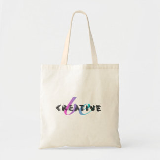 Be Creative - handwritten Tote