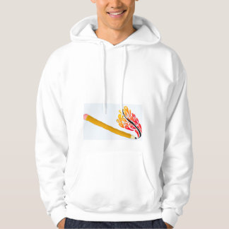 Be Creative (Men's Hooded Sweatshirt) Hoodie