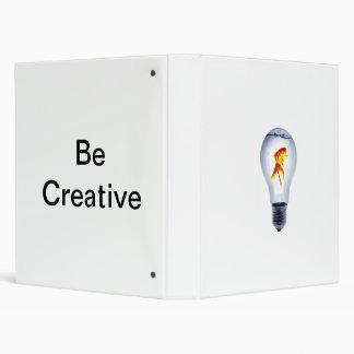 Be Creative Notebook! Binder