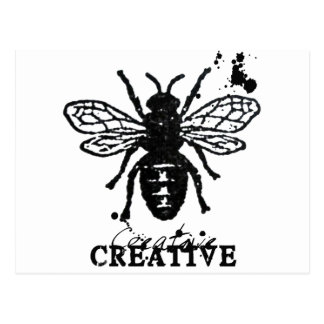 Be Creative Postcard