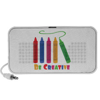 Be Creative Notebook Speakers