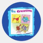 Be Creative Sticker