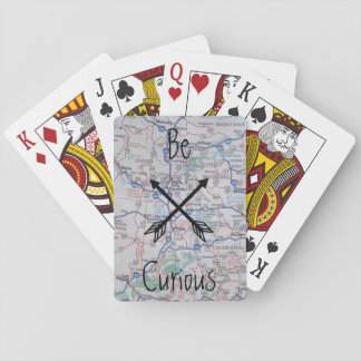 """""""Be Curious"""" Playing Cards"""