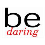 Be Daring Postcard