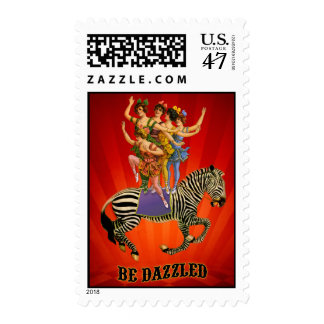 Be-Dazzled Postage Stamp