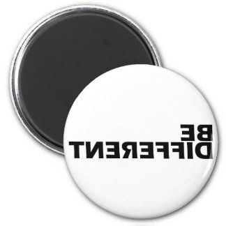 Be Different 2 Inch Round Magnet