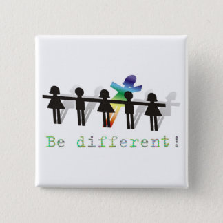Be different! button