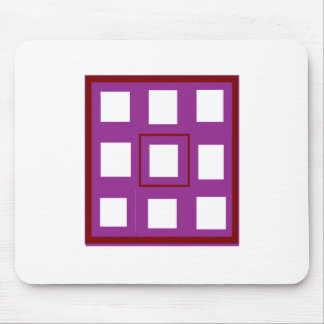 Be Different Buy Different Purple Squares Gifts Mouse Pad