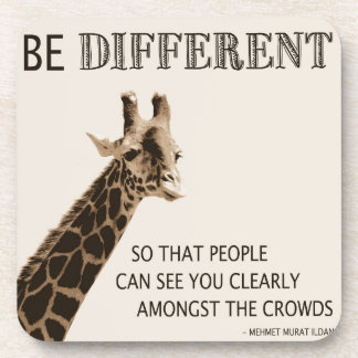 Be Different Drink Coaster