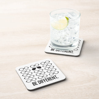 Be Different Beverage Coasters