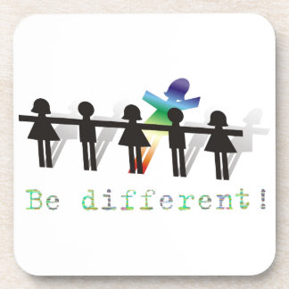 Be different! coasters