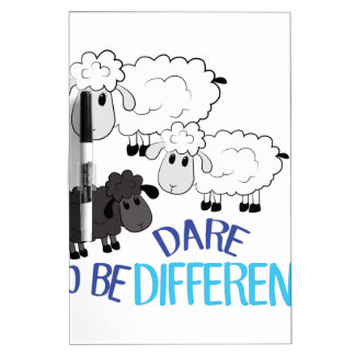 Be Different Dry-Erase Board