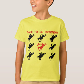 Be Different - Funny Horse Saying T-Shirt
