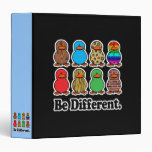 be different funny pattern ducky ducks binders