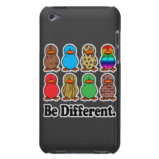 be different funny pattern ducky ducks barely there iPod cover