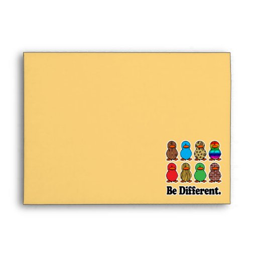 be different funny pattern ducky ducks envelopes