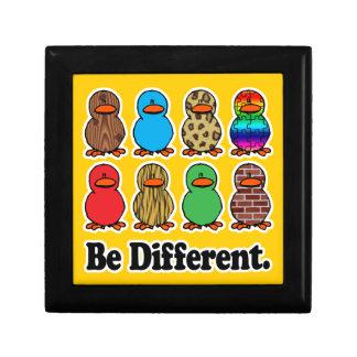 be different funny pattern ducky ducks keepsake box
