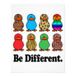 be different funny pattern ducky ducks invite