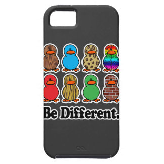 be different funny pattern ducky ducks iPhone SE/5/5s case