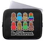 be different funny pattern ducky ducks laptop computer sleeves