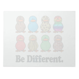 be different funny pattern ducky ducks memo notepads