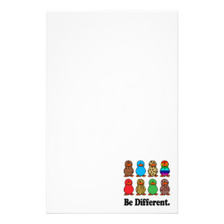 be different funny pattern ducky ducks stationery