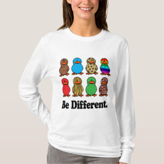 be different funny pattern ducky ducks T-Shirt