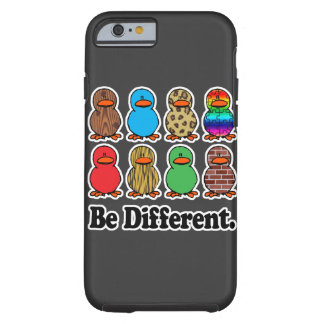 be different funny pattern ducky ducks tough iPhone 6 case