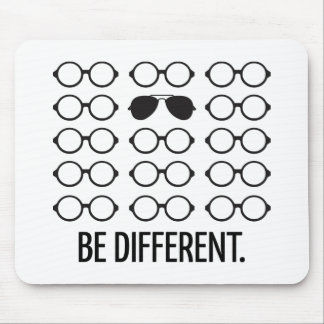 Be Different Mouse Pad