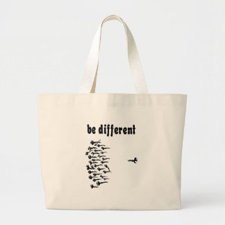 Be Different Sperm Jumbo Tote Bag