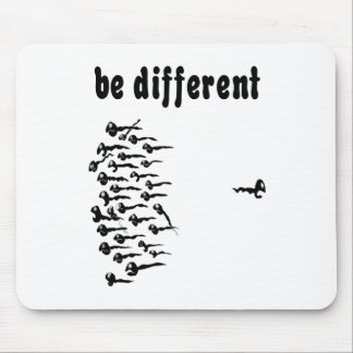 Be Different Sperm Mouse Pad
