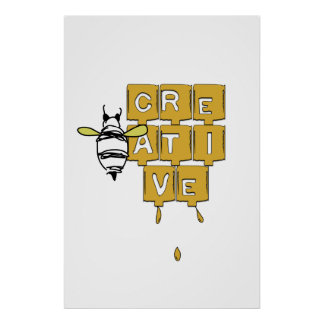 Be(e) creative poster