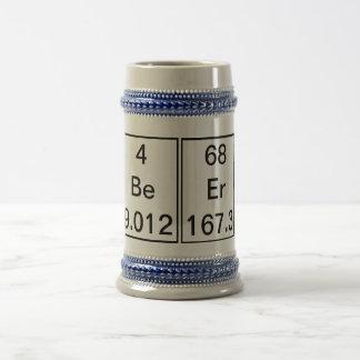 Be Er Chemical Element Mug