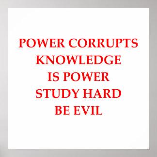 be evil print