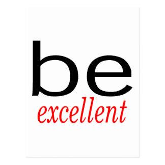 Be Excellent Postcard