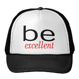 Be Excellent Trucker Hat