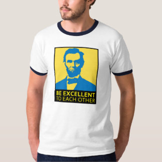 Be Excellent (yellow/blue) T-Shirt