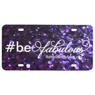 Be Fabulous license plate
