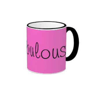 Be Fabulous! Ringer Coffee Mug