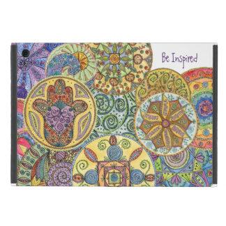 Be Fearless, Hamsa Mandala iPad Mini Cover