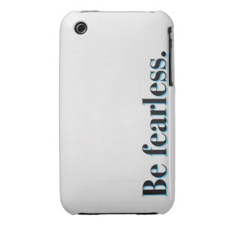 Be fearless iPhone 3 Case-Mate case